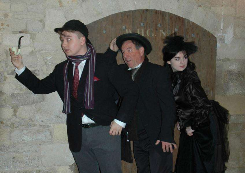 Production of Sherlock Holmes at Stamford Corn Exchange EMN-150914-154619001