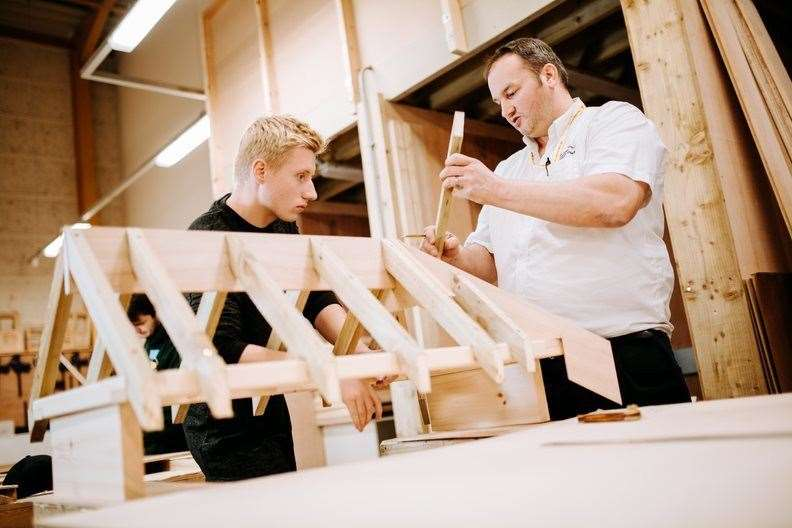 Carpentry at Stamford College