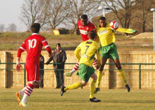 Stamford AFC v Stourbridge. Photo: Geoff Atton EMN-150127-113812001