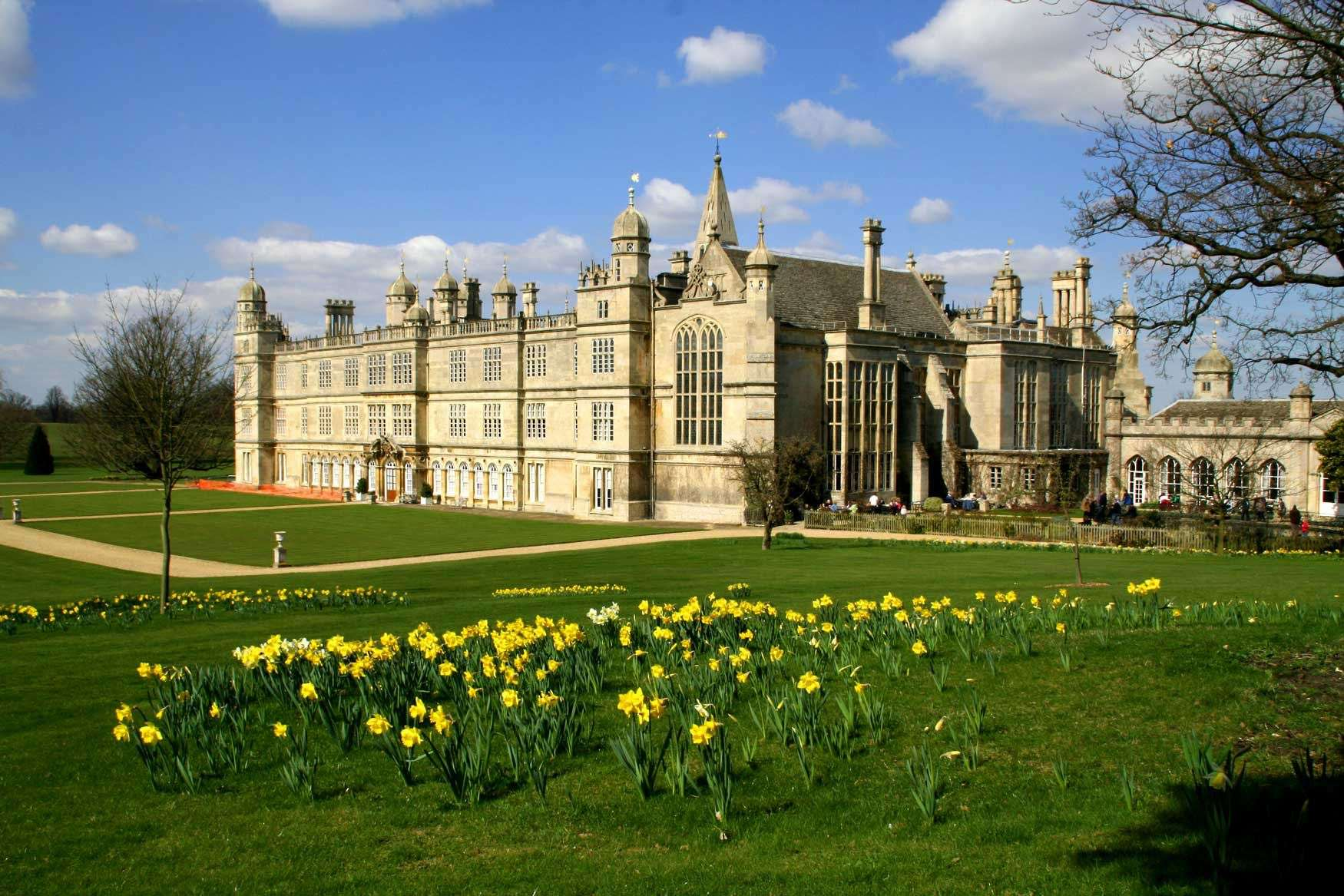 Burghley House South Gardens