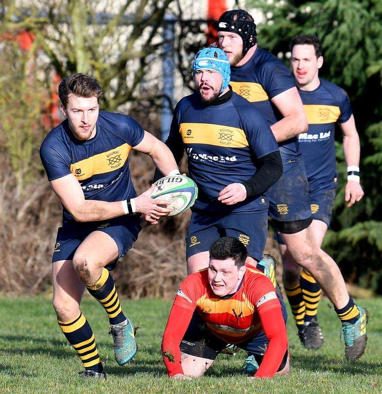 Bourne ran out 43-15 winners against Stockwood Park on Saturday. Photo: Alan Hancock (7085629)