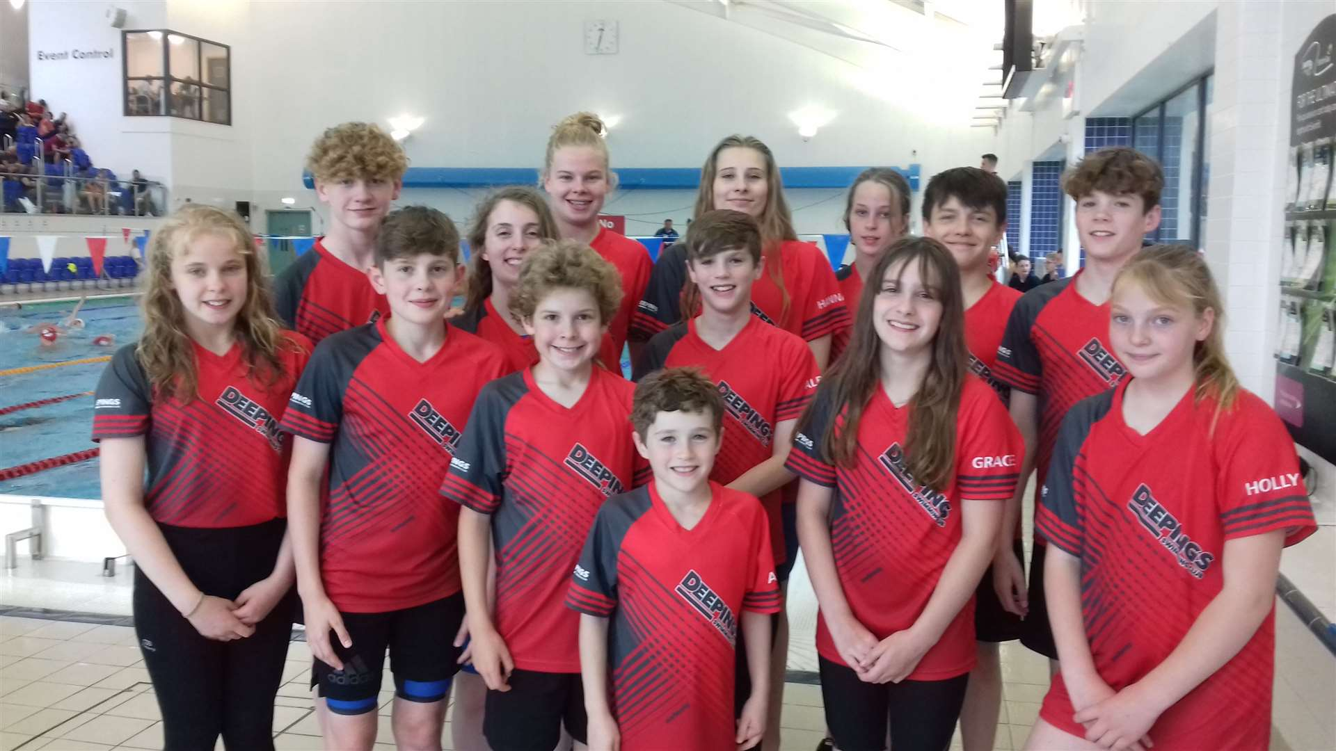 The Deepings squad won 44 medals, including 10 golds, at the Chesterfield Summer Splash. (13896084)