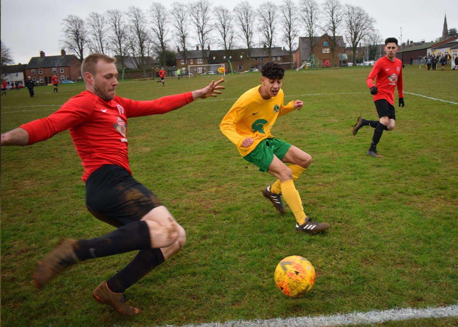 Match action from Uppingham's victory over Oakham Reserves. (6706458)