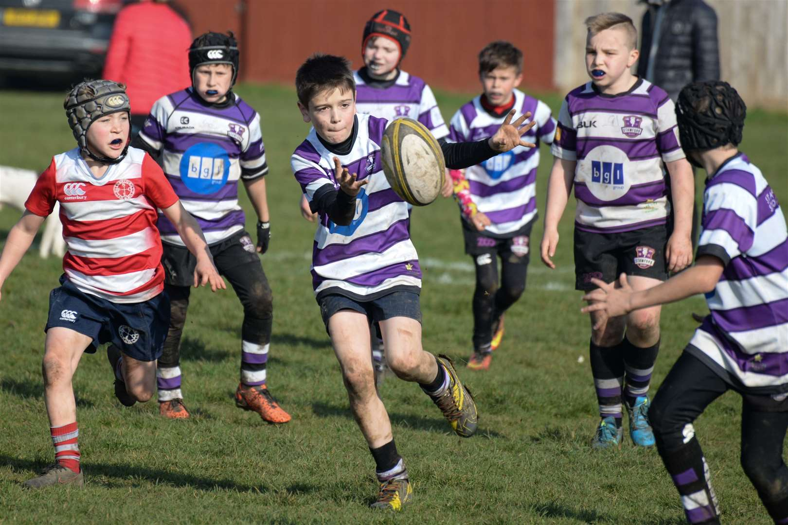 Young players from Stamford Rugby Club will be action at their festival this weekend. (7784314)